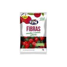 Balas de Gelatina Fini Natural Sweets Fibras 18g R$2,90