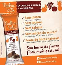 Barra Alfarroba + Salada de Frutas 30g R$4,00